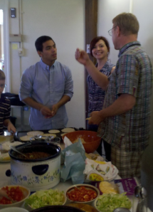 Can Lutherans make tortillas - with help from our Guatemalan sister parish visitors?