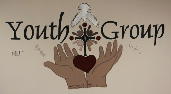 stlc youth group wall